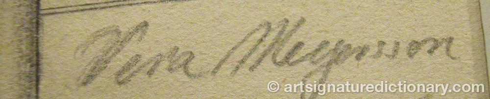 Signature by Vera Helga MEYERSON