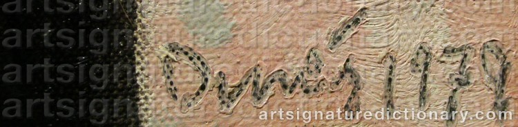 Signature by Sten DUNÉR