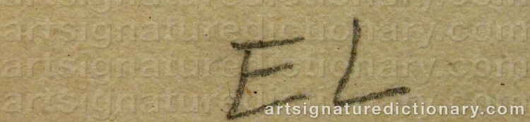 Signature by Egron LUNDGREN