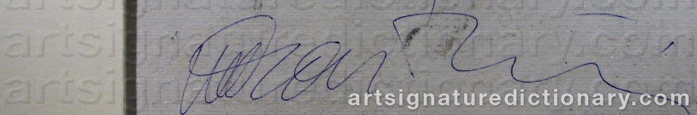 Signature by Marco GASTINI
