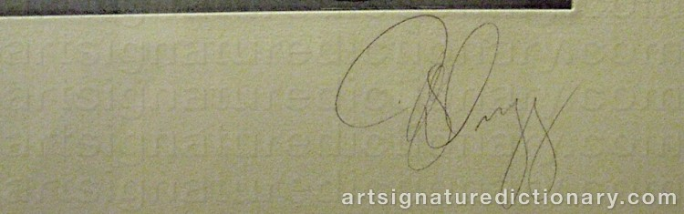 Signature by Tony CRAGG