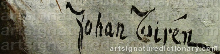 Signature by Johan TIRÉN