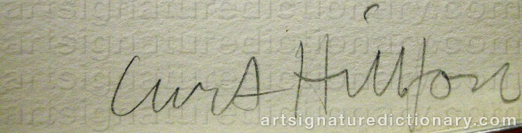 Signature by Curt HILLFON