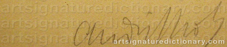 Signature by André LHOTE