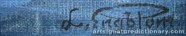 Signature by Lennart ENGBLOM