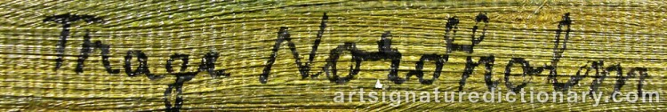 Signature by Thage NORDHOLM
