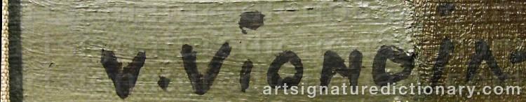 Signature by Veikko VIONOJA