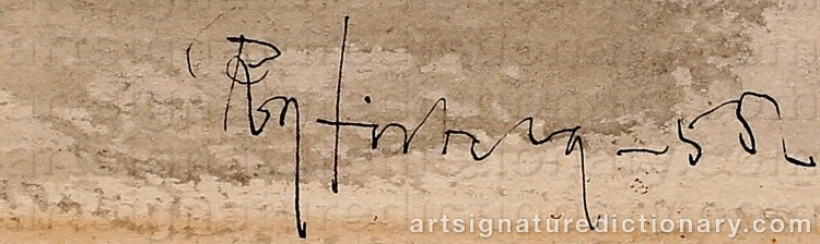 Signature by Roy FRIBERG