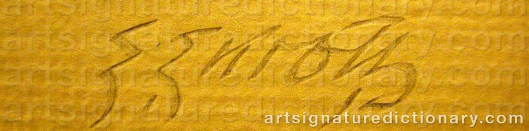 Signature by Erik ENROTH