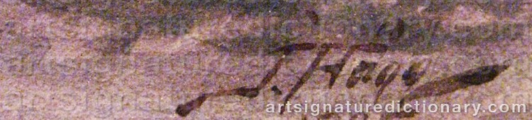 Signature by Jacob HÄGG