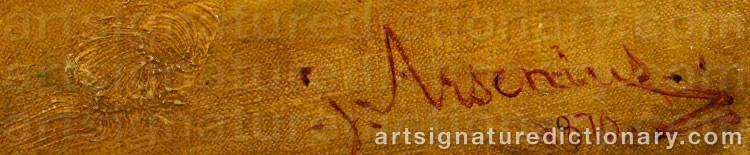 Signature by John ARSENIUS