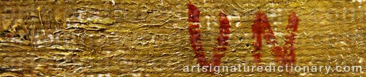 Signature by Vera NILSSON