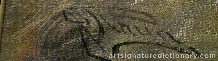 Signature by Johannes RAVN