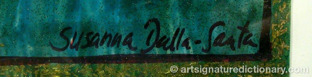 Signature by Susanna DALLA SANTA