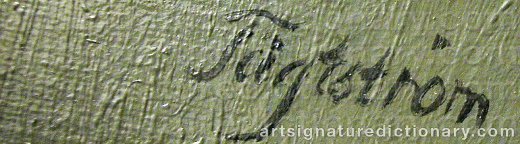 Signature by David TÄGTSTRÖM