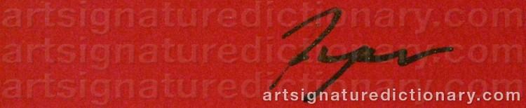 Signature by Richard RYAN