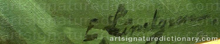 Signature by Emil LINDGREN