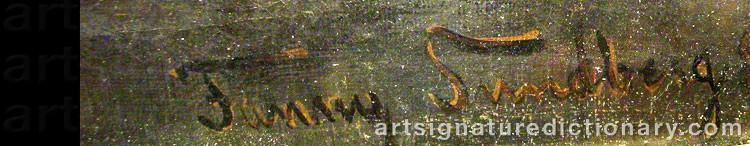 Signature by Fanny Maria KLINGBOM