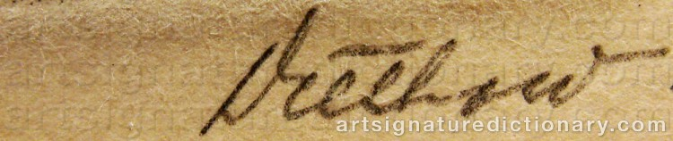Signature by Eric DETTHOW