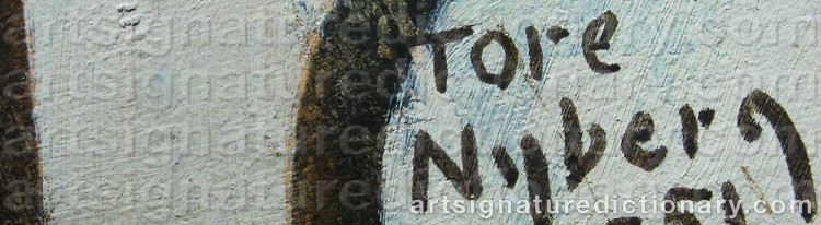 Signature by Tore NYBERG