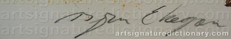 Signature by Björn EKEGREN