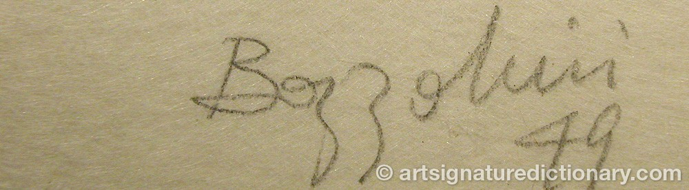 Signature by Silvano BOZZOLINI