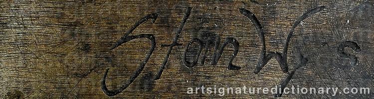 Signature by Stanislaw 'Stan Wys' WYSOCKI