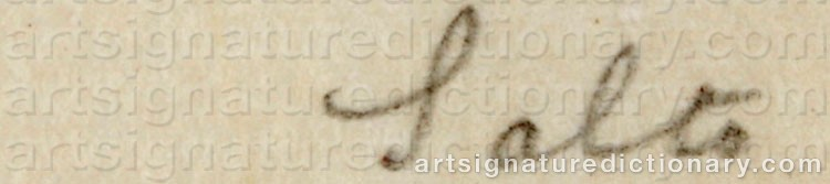 Signature by Axel SALTO