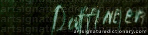 Signature by: DAFFINGER, Moritz Michael