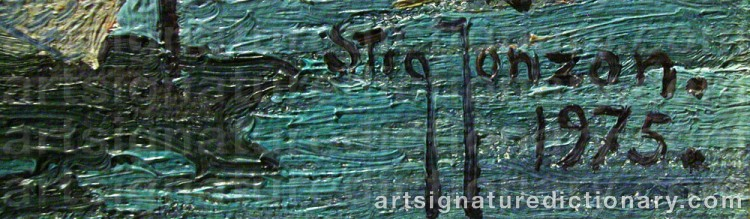 Signature by Stig JONZON