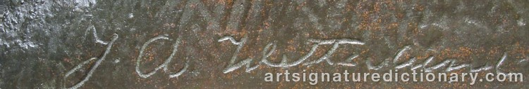 Signature by Johan Axel WETTERLUND