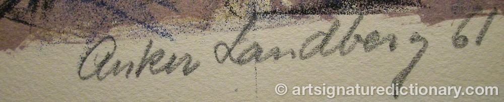 Signature by Anker LANDBERG