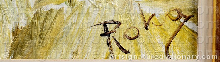 Signature by Charles ROKA
