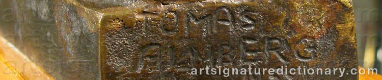 Signature by Tomas ALMBERG