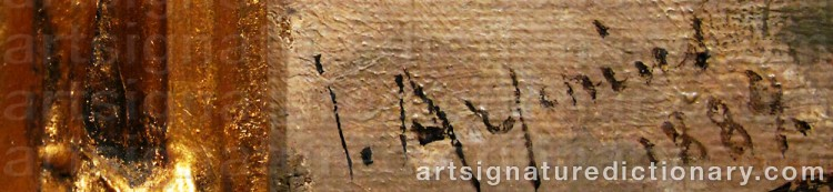 Signature by John ARSENIUS