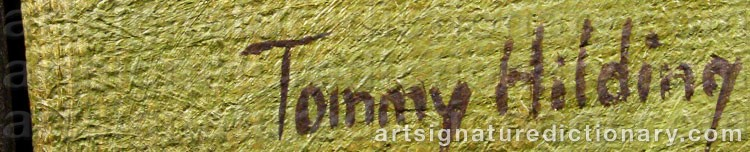 Signature by Tommy HILDING