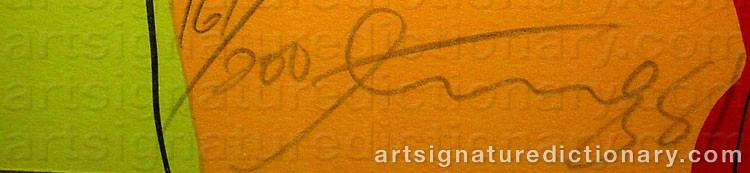 Signature by Walasse TING