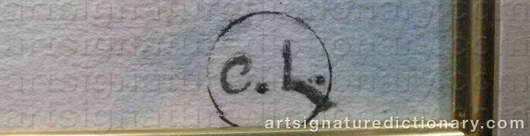 Forged signature of Carl LARSSON