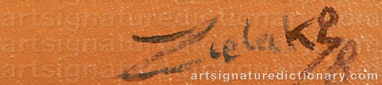 Signature by Jan ZIELECKI