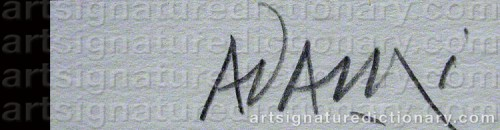 Signature by: ADAMI, Valerio