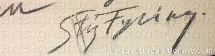 Signature by Stig FYRING