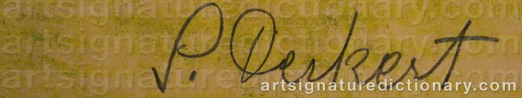 Signature by Siri DERKERT