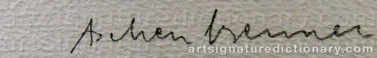 Signature by Lennart ASCHENBRENNER