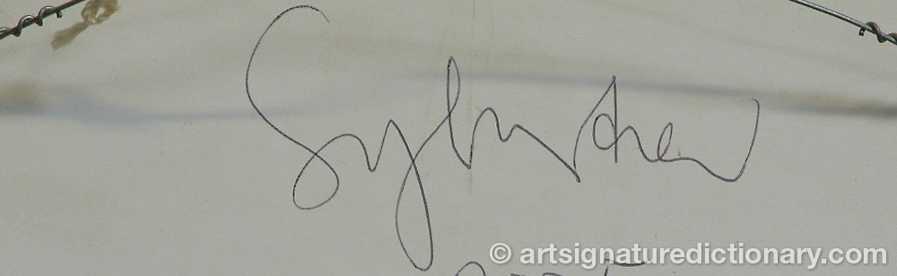 Signature by Leif SYLVESTER
