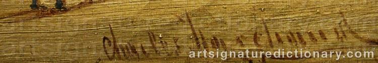 Signature by Karl KAUFMANN