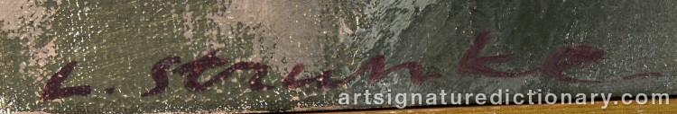 Signature by Laris STRUNKE