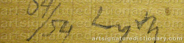 Signature by Harald LYTH