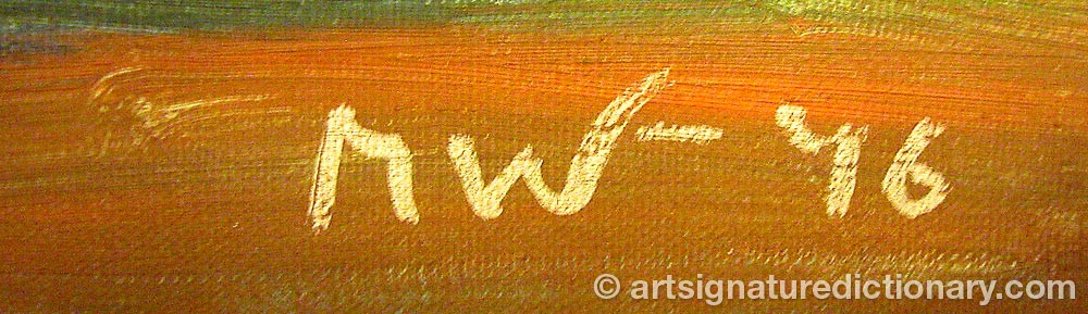 Signature by M W