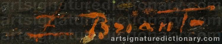 Signature by Ezelino BRIANTE