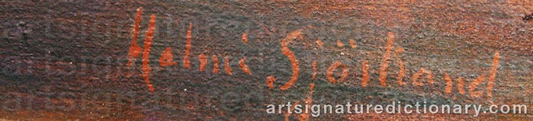Signature by Helmi SJÖSTRAND